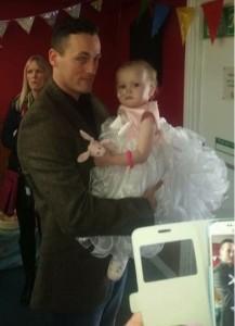 godupdates terminal baby girl poppy-mai gets wedding of her dreams 7
