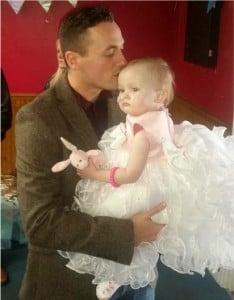 godupdates terminal baby girl poppy-mai gets wedding of her dreams 9