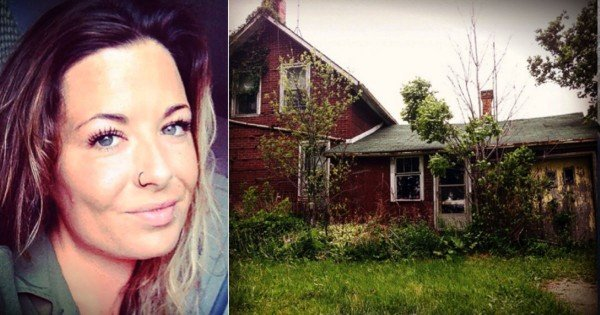Woman Walks Into An Abandoned House To Find A Lonely Man Inside