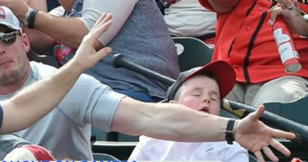godupdates dad blocks baseball bat