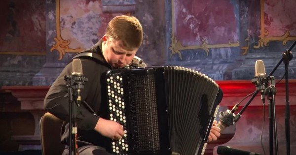 Concert Accordion Player Alexandr Hrustevich Will Amaze You