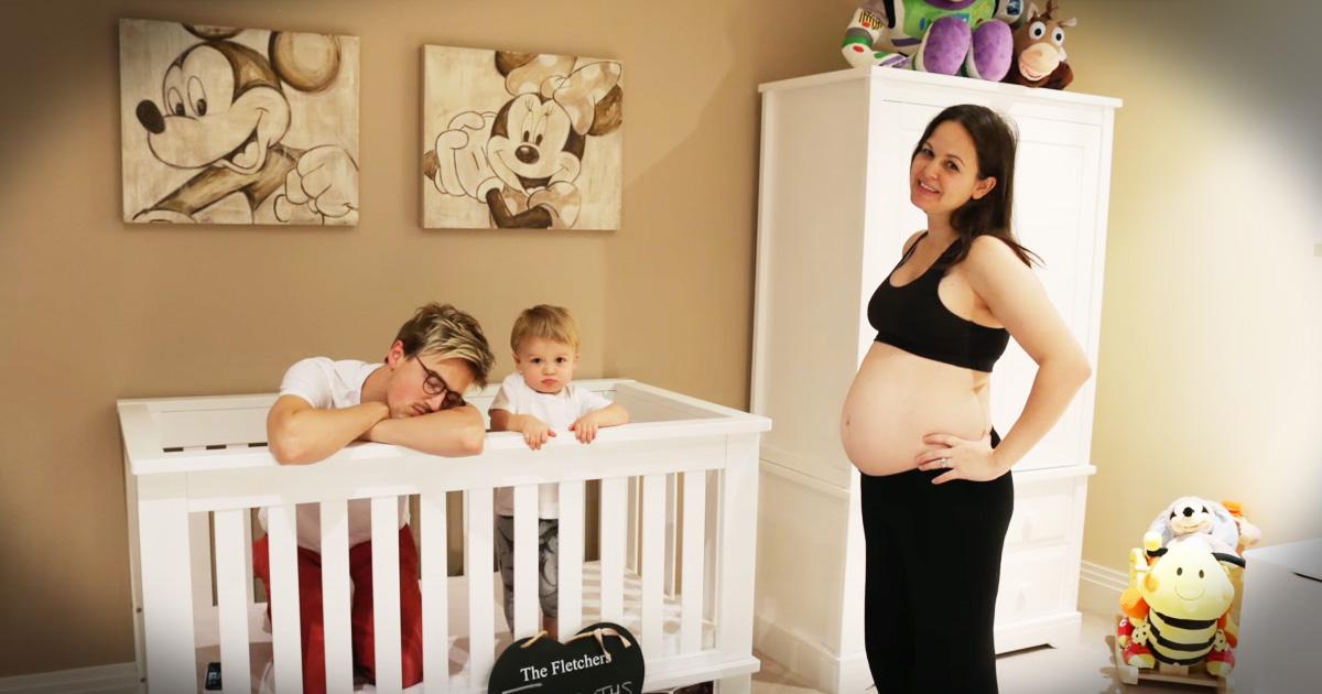 Tom Fletcher and Wife Bump to Buddy Pregnancy Time Lapse