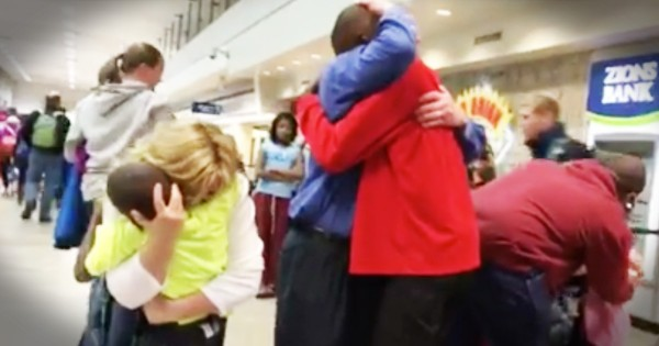 Adopted Sons See Their Parents After 3 Long Years