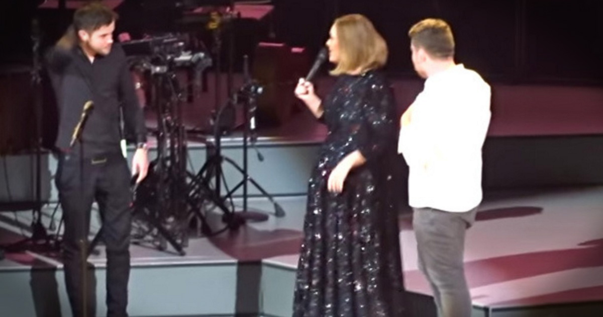 Viral Video Stars Join Adele On Stage At Her Concert