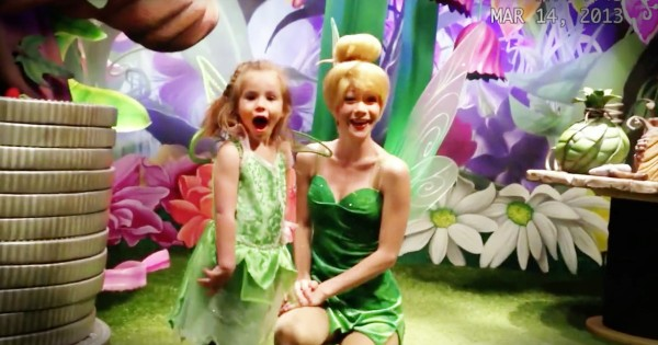 Tinkerbell Surprise For A Deaf Little Girl At Disney World