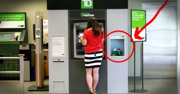 ATM Machine That Specializes in Acts of Kindness