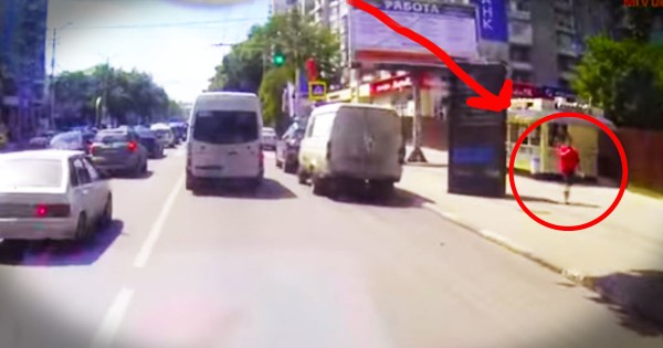Dash Cam Catches a Miracle as It Happens