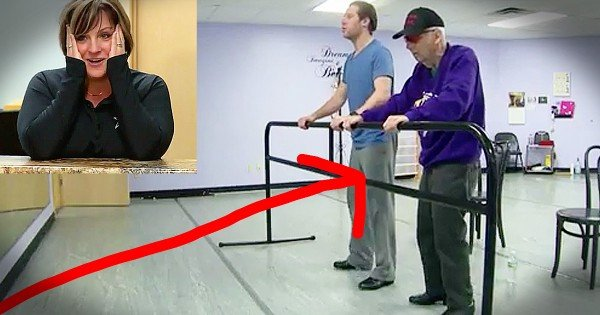 85-Year-Old Navy Veteran Learns To Tap Dance