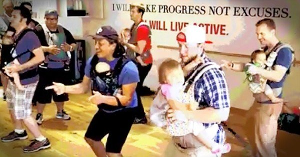Dads Dancing With Their Babies
