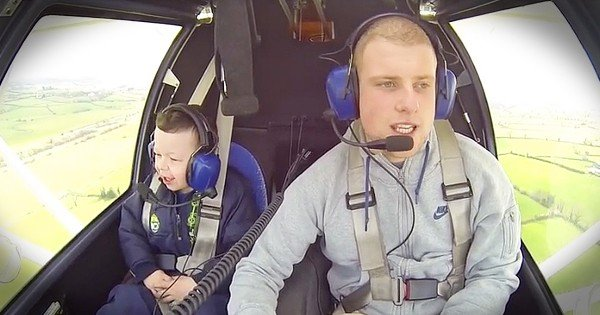 Pilot Takes Brother with Williams Syndrome on Plane Ride