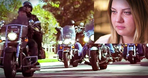 Tough Bikers Help Young Girl Recover From Child Abuse