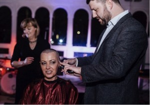 godupdates bride opts to shave her head for dying groom 1