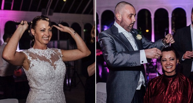 godupdates bride opts to shave her head for dying groom 3