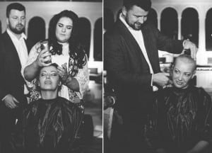 godupdates bride opts to shave her head for dying groom 4