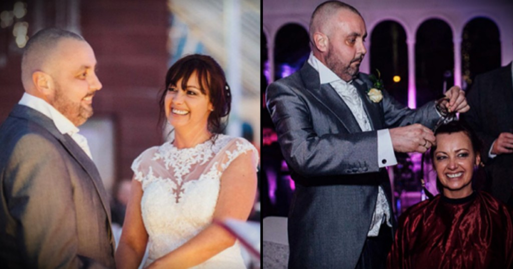 godupdates bride opts to shave her head for dying groom fb
