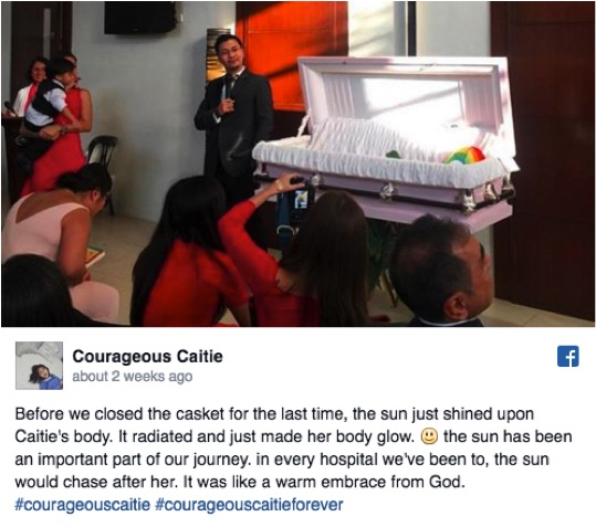 godupdates courageous caitie honored with wedding-themed service 7