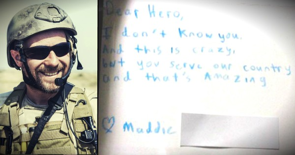Soldiers Share 14 Of The Best Letters They've Received From Kids