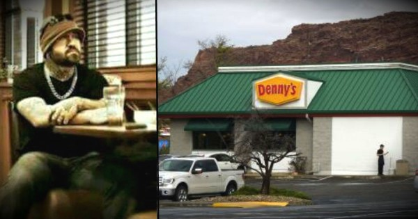 An Angel Showed Up At Denny's To Bless A Waitress Who Is A Single Mom
