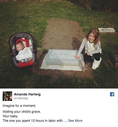 godupdates mom's emotional post about visiting her baby's grave 1