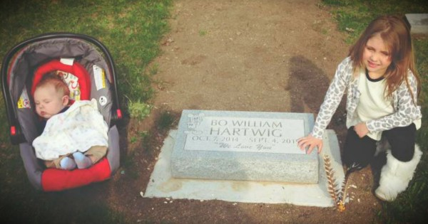 Mom's Emotional Post About Visiting Her Baby's Grave