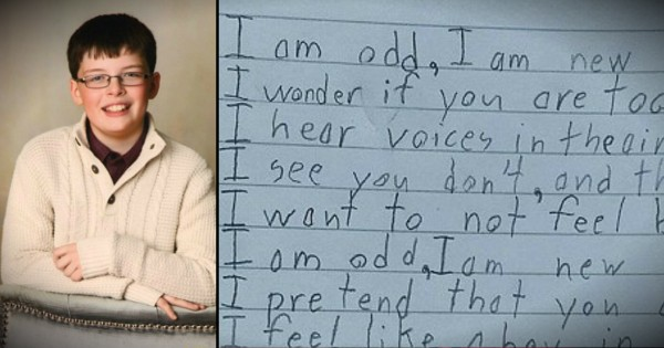 Powerful Poem Written By A Boy With Austism Honors Differences