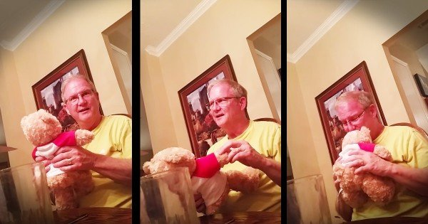 Future Grandpa's Heartwarming Birthday Baby Surprise