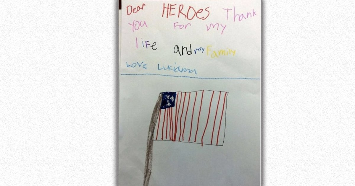 15 letters from kids sent to soldiers _ god updates