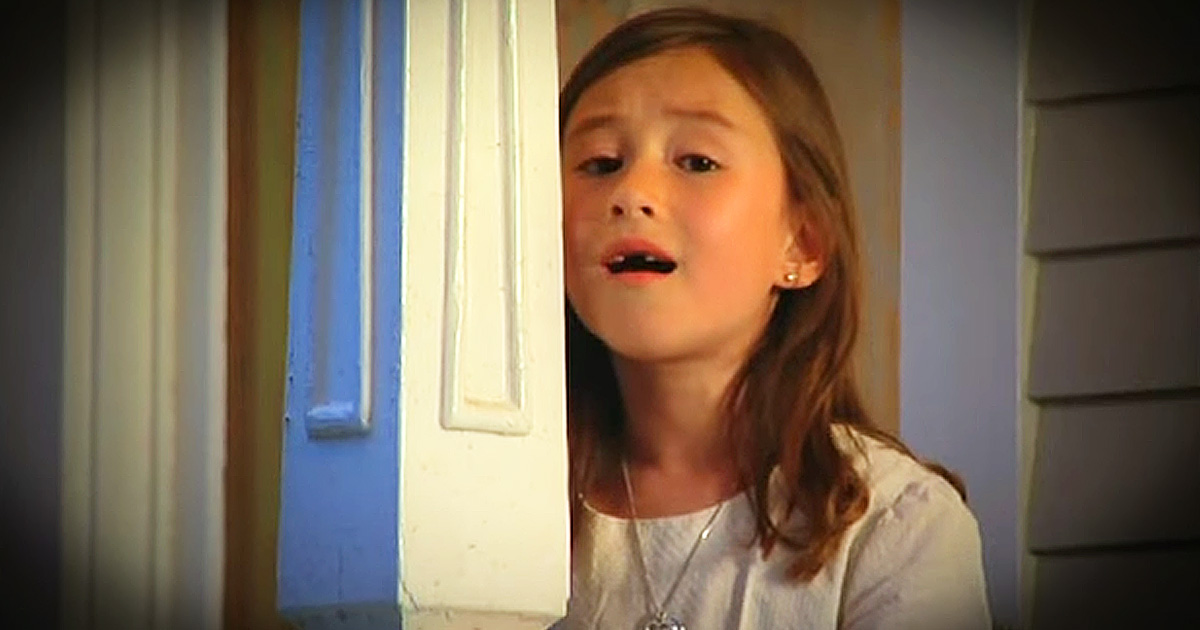 Little Girl Singing & Dancing in Church Choir | Watch Now