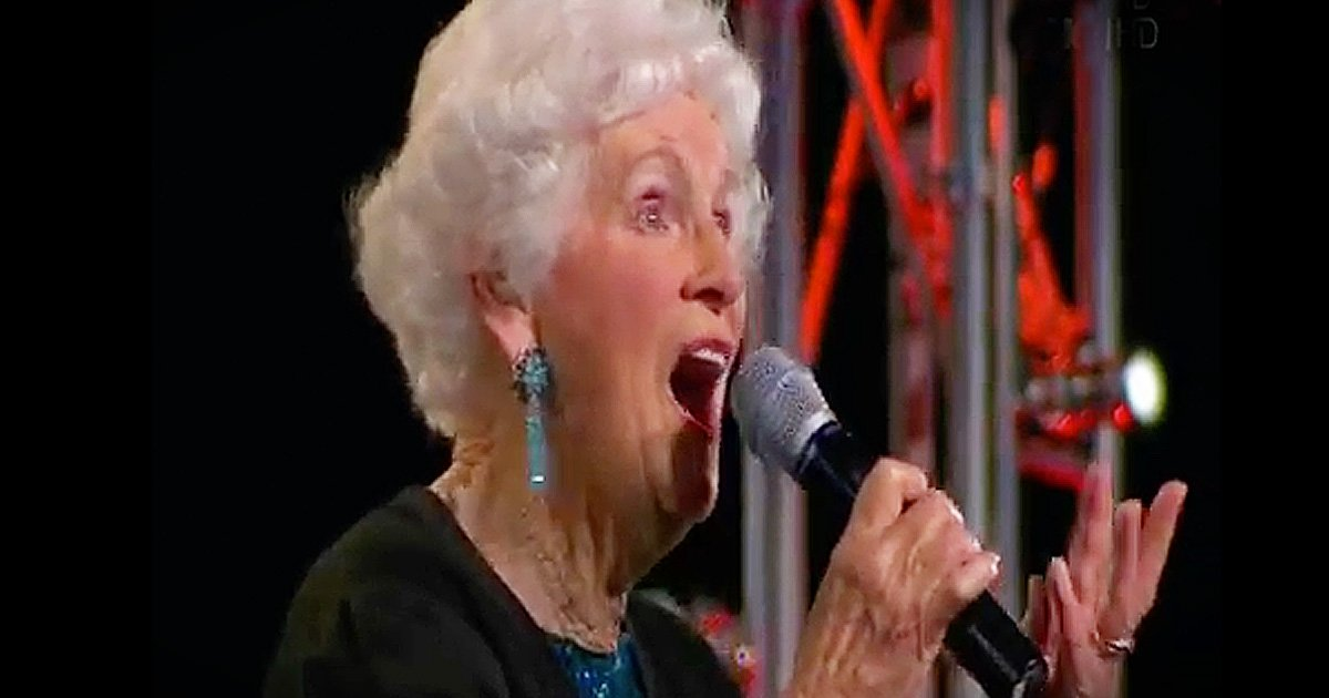 91 year old new zealands got talent national television GodUpdates