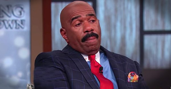 Steve Harvey Cries With Daughter Before Her Wedding