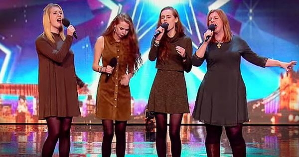 Garnett Family Britain's Got Talent Audition Gets Standing Ovation