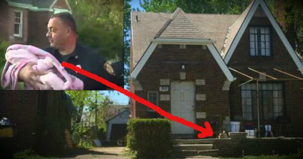 Men Leaving for Work Find A Missing Baby on the Porch