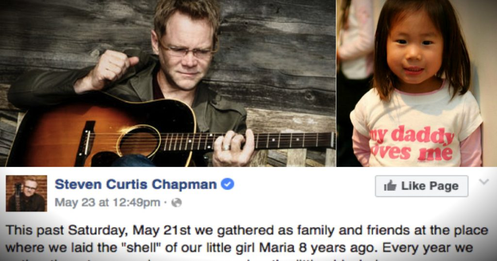 godupdates steven curtis chapman anniversary of daughters death fb