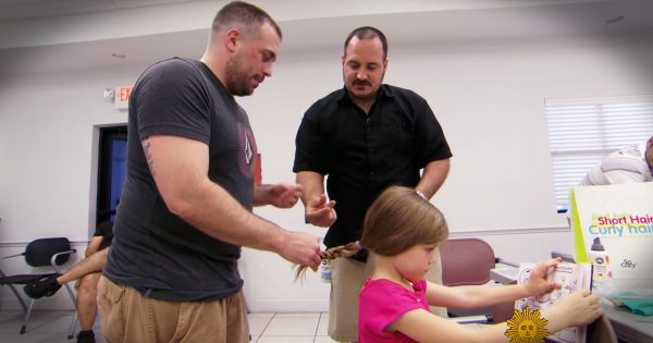 Single Dad Learns To Do Daughter's Hair And Teaches Other Dads
