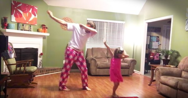 Daddy-Daughter Dance to Justin Timberlake Can't Stop the Feeling