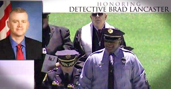 Police Officer Sings Amazing Grace for Fallen Officer