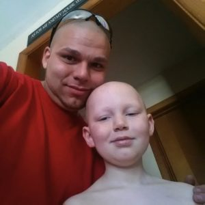 godupdates dad gets tattoo to match son's cancer surgery scar 5