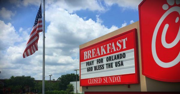 Chick-Fil-A's Compassionate Response To The Orlando Tragedy