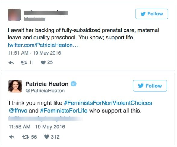 godupdates patricia heaton twitter response 4