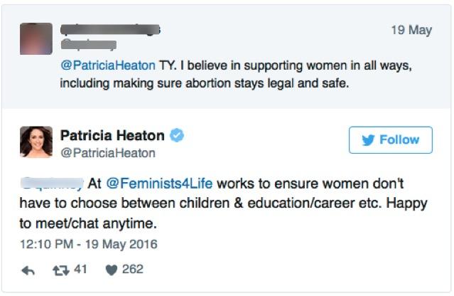 godupdates patricia heaton twitter response 5