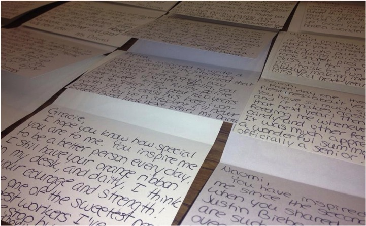 Attempted Suicide Prompts Teacher To Write 100+ Notes To