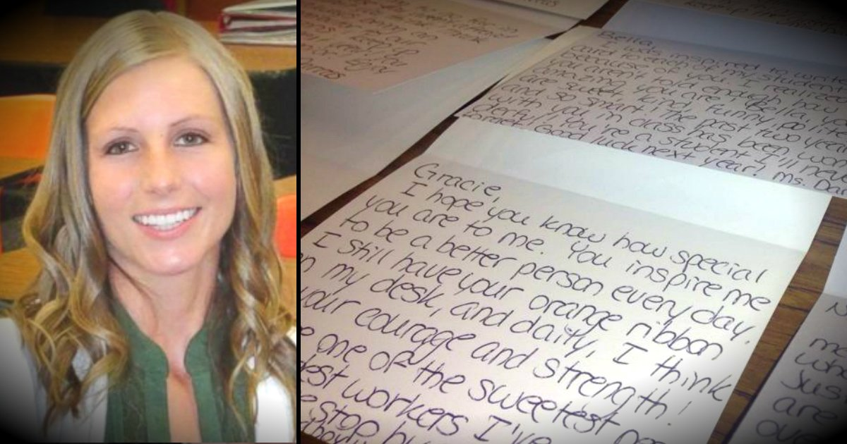 Attempted suicide prompts teacher to write 100 notes to students teacher writes over 100 letters after students attempted suicide expocarfo