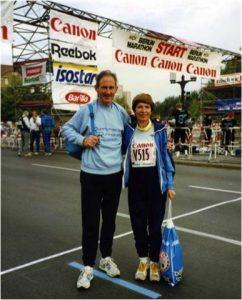 godupdates 80-year-old couple celebrates 57th wedding anniversary running marathon 2