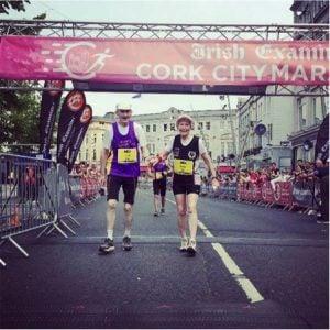 godupdates 80-year-old couple celebrates 57th wedding anniversary running marathon 4