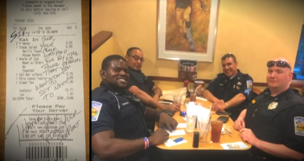 godupdates couple refused to sit by cops at diner_fb