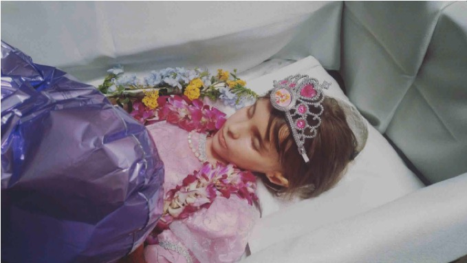 godupdates grieving aunt photo tribute after losing 7-year-old niece katherine the brave 3
