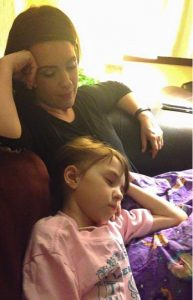 godupdates grieving aunt photo tribute after losing 7-year-old niece katherine the brave_20