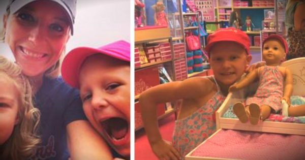 American Girl Doll in Toy Store Brings Mother to Tears