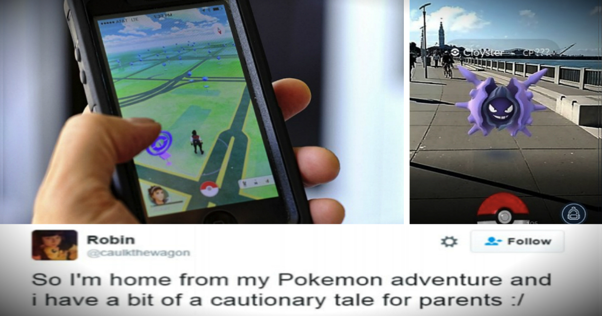 Pokemon Go App Warning