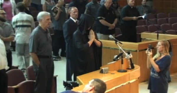 Satanic Prayer At City Council Gets Interrupted By Lord's Prayer